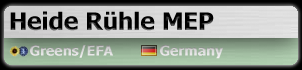 Heide Rühle MEP (Greens/EFA, Germany)