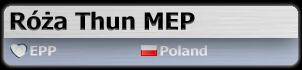 Róża Thun MEP (EPP, Poland)
